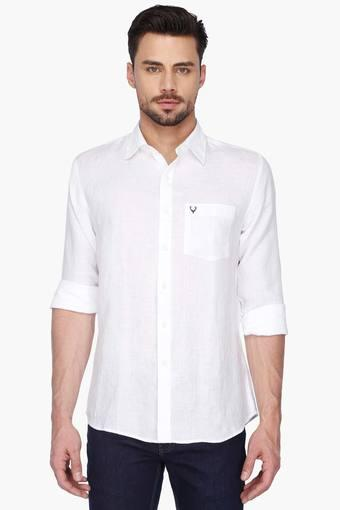 ALLEN SOLLY -  White Shirts - Main