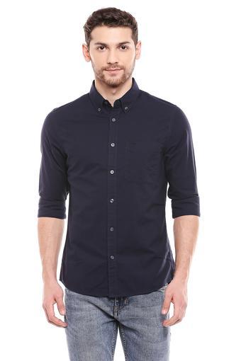 CALVIN KLEIN JEANS -  NavyCasual Shirts - Main