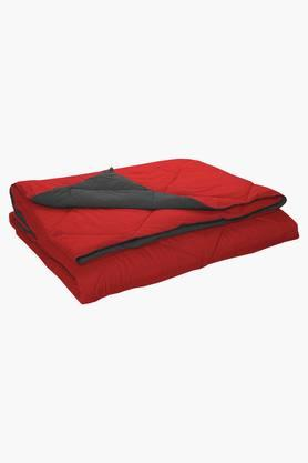 STOA PARISGrey Coral Reversible Microfiber Comforter (Comforter (Double)