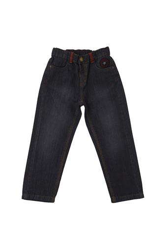 Boys Slim Fit Mild Wash Jeans