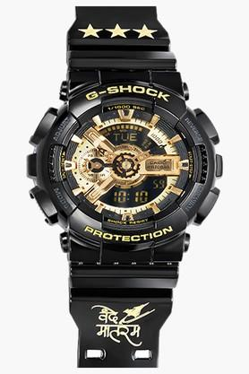 CASIO Men's G Shock Limited Edition Analog Digital Black Watch GA110GB-1A