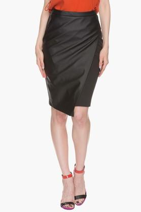 LIFE Womens Flap-front Pencil Skirt
