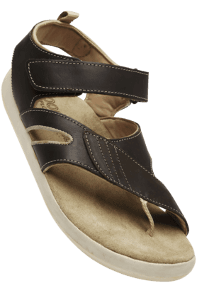 WOODLAND Mens Velcro Closure Sandal
