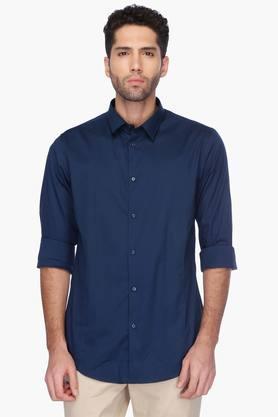 Arrow Nyc Formal Shirts (Men's) - Mens Regular Collar Solid Shirt