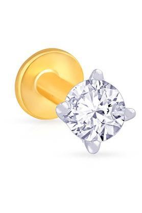 MALABAR GOLD AND DIAMONDSWomens Diamond Nosepin UINSP00442
