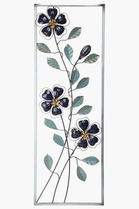 Floral Metal Wall Hanging
