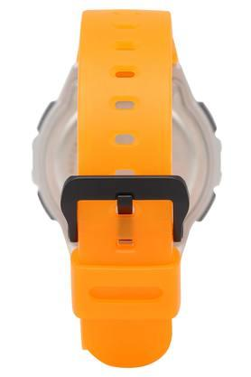 Mens Grey Dial Digital Watch