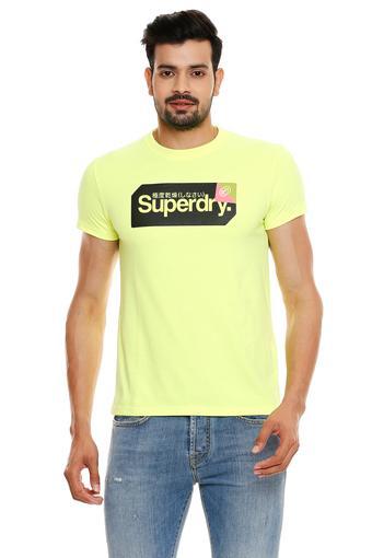 SUPERDRY -  YellowT-Shirts & Polos - Main