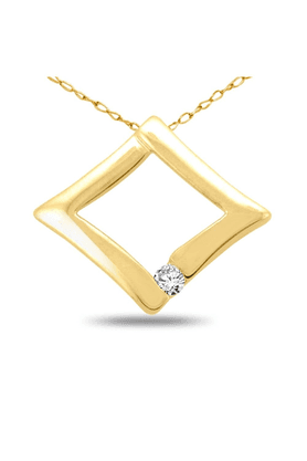 SPARKLESHis & Her Collection 92 Kt Diamond Pendants In 925 Sterling Silver Diamond HHP4763-92KT