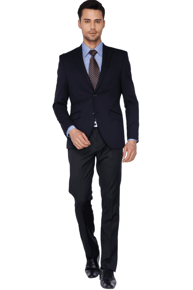 Mens Full Sleeves Slim Fit Solid Blazer