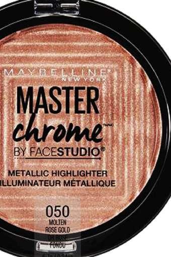 Face Studio Master Chrome Metallic Highlighter - Molten Rose Gold - 6.7 gm