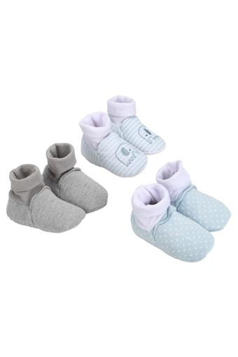 MOTHERCARE -  Blue Mitten & Booties - Main