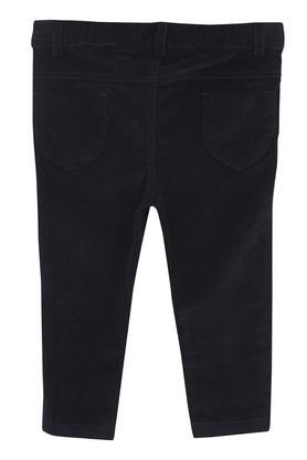 Girls 5 Pocket Solid Pants