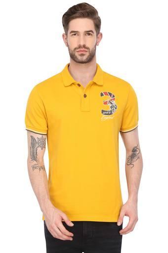 U.S. POLO ASSN. DENIM -  YellowT-shirts - Main