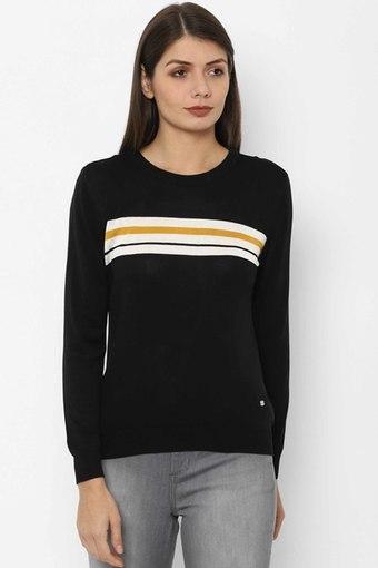 ALLEN SOLLY -  BlackT-Shirts - Main