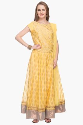 Haute Curry Chaniya, Ghagra Cholis - Womens Printed Lehenga Choli Set