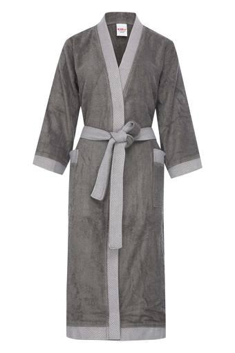 SPACES -  Grey Bath Robes - Main