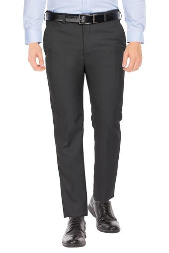 RAYMOND -  BlackCargos & Trousers - Main