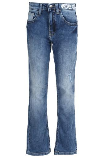 UNITED COLORS OF BENETTON -  Light BlueBottomwear - Main
