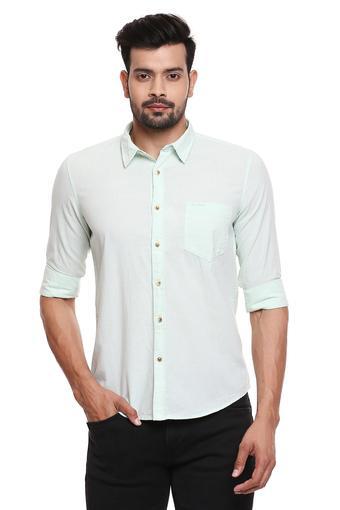 PEPE -  GreenCasual Shirts - Main