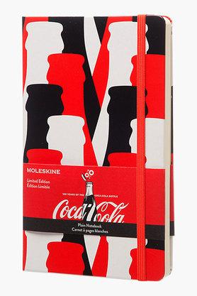 Moleskine�Coca Cola Plain Red Hard Cover Large Notebook