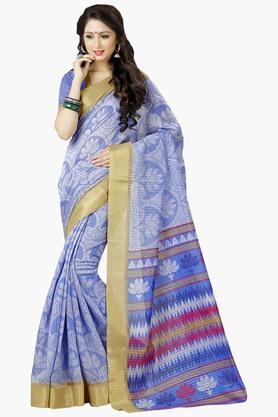 DEMARCAWomens Silk Designer Saree - 202338172