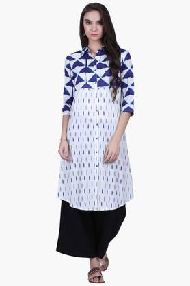JUNIPERWomens Printed Shirt Kurta