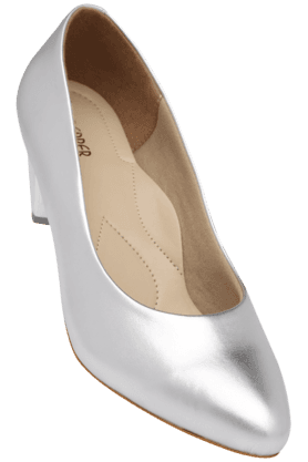 LEMON & PEPPERWomens Party Wear Slipon Heel Shoe