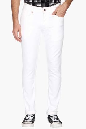 Vettorio Fratini Jeans (Men's) - Mens 5 Pocket Coated Jeans