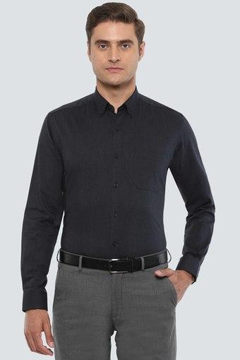 LOUIS PHILIPPE -  CharcoalFormal Shirts - Main