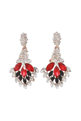 Beautiful Designer Earrings Colour Stone