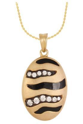 IZAARAWomens Silver Stone Studded Pendant - 201846506