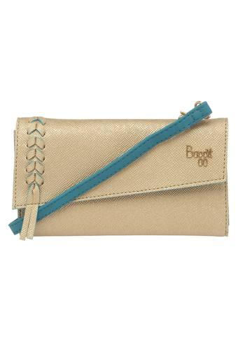 BAGGIT -  Gold Wallets & Clutches - Main