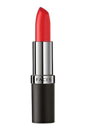 FACES Ultime Pro Velvet Matte Lipstick (15% Off On Rs.1000, 20% Off On Rs.2500, 25% Off On Rs.4000. Applicable On Total Purchase Of Faces Products)