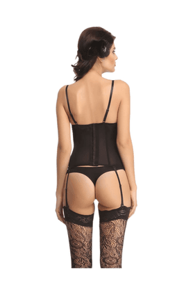 Women Corset And Brief Set