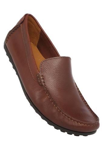 CLARKS -  Van Dyke BrownCasuals Shoes - Main