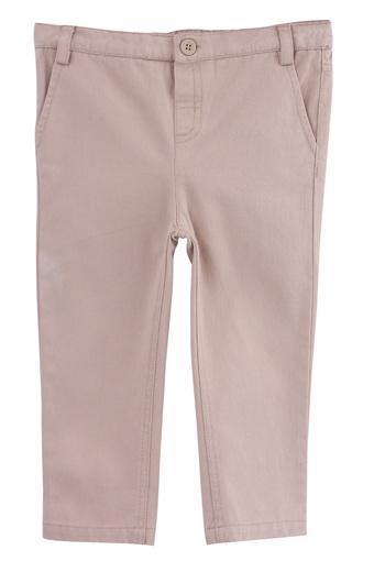 Boys 3 Pocket Solid Pants