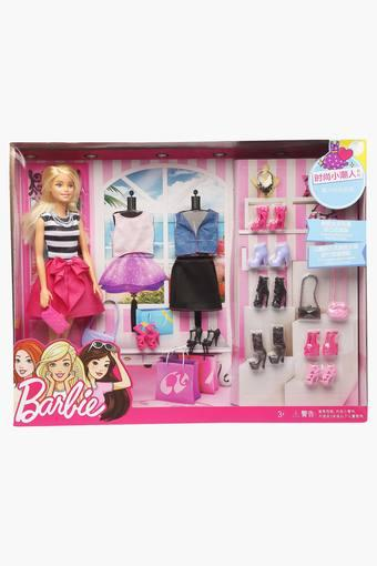 Buy Barbie Girls Barbie Doll With Clothes And Shoes Set Shoppers Stop
