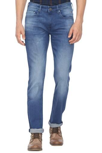 Mens 5 Pocket Mild Wash Jeans (Matt Fit)