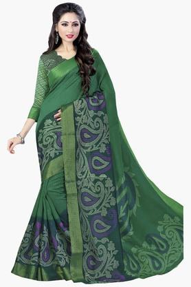 DEMARCAWomens Silk Designer Saree - 202338155