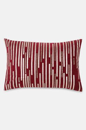 Stripes Foil Cushion Cover