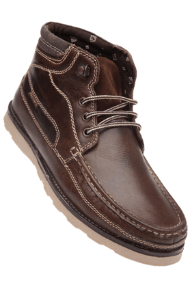 RED TAPE Mens Brown Casual Leather Shoe