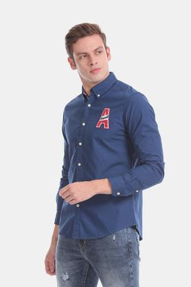 AEROPOSTALE - Blue Casual Shirts - 2