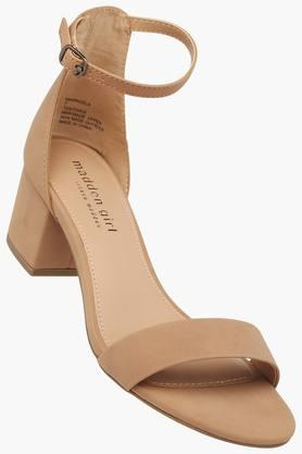STEVE MADDEN Womens Party Wear Buckle Closure Heel Sandals - 202204367