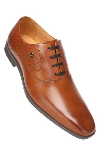 LOUIS PHILIPPE -  Tan Formal Shoes - Main