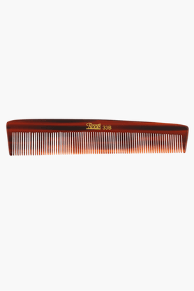 ROOTS Brown Fine Teeth Comb Best For Short Straight Hair