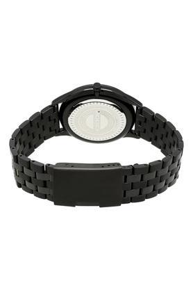 Mens Black Dial Metallic Chronograph Watch - PL15511JSB61M