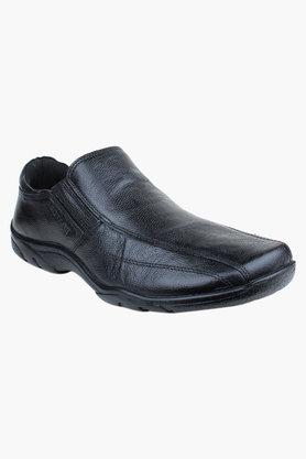 Mens Leather Slip On Formal Loafers - 200589433