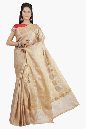 JASHN Womens Self Printed Saree