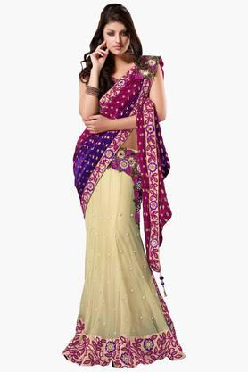 MAHOTSAV Womens One Minute Saree